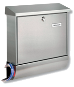 Thumbnail of Amrum - Stainless Steel Post Box Set