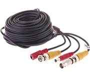 Thumbnail of Yale 18m Black CCTV BNC Camera Cable