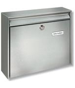 Borkum - Stainless Steel Post Box