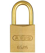 ABUS Brass 65/15 Padlock - Keyed Alike