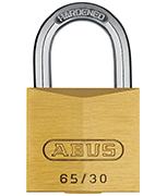 ABUS Brass 65/30 Padlock - Keyed Alike