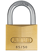 ABUS Brass 65/50 Padlock - Keyed Alike