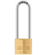 ABUS Brass 65/30 Long 60mm Shackle Padlock - Keyed Alike