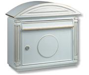 Thumbnail of Venezia White - Cast Aluminium Post Box