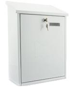 Grand White - Top Loading 21.5Ltr Medium Post Box