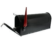 US Mail Box - Black