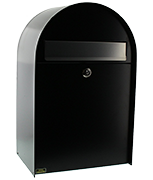Thumbnail of Nordic Black - Steel Post Box (Medium)