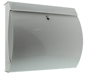 Thumbnail of Verona White - Steel Post Box
