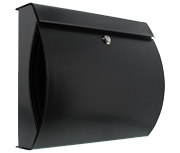 Verona Anthracite - Steel Post Box