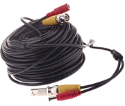 Thumbnail of Yale 30m Black CCTV BNC Camera Cable