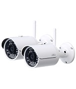 Thumbnail of Burg Wachter 3 Megapixel Wi-Fi Bullet Camera (Twin Pack)