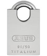 ABUS TITALIUM 90RK/50 Marine Grade Padlock - Keyed Alike