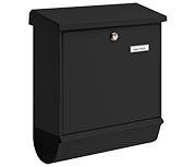 Comfort Black - Steel Post Box Set