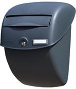 Bobi Bella - Grey Plastic Letter Box