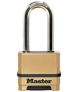 Master Lock M175 Long 51mm Shackle Combination Thermo Padlock