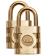 Thumbnail of Yale 841 Commercial 54mm Bronze Padlock - (3 pack)