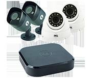 Dvr Cctv Systems With 4 Cameras Hd Cctv Next Day P Amp P