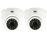 Thumbnail of Yale Outdoor HD 1080p CCTV Dome Camera (Twin Pack)
