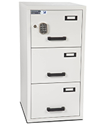 Burton 3 Drawer Electronic Fire File