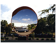Thumbnail of Convex 1000mm Diameter - Large Acrylic Deluxue Outdoor Traffic Mirror
