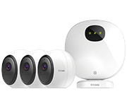 Thumbnail of D-Link DCS-2802KT-EU mydlink Pro Wire-Free Security System - 3 Camera