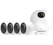Thumbnail of D-Link DCS-2802KT-EU mydlink Pro Wire-Free Security System - 4 Camera
