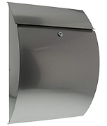 Riviera Stainless Steel Post Box