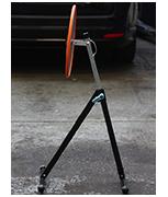 Convex 400mm Diameter - Acrylic MOT Inspection Mirror Set