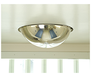 Thumbnail of Convex 500mm Stainless Steel Ceiling Dome Mirror - Anti-ligature