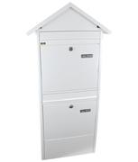 Thumbnail of Jumbo White - Steel Post Box