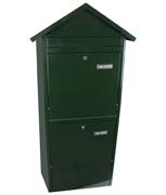 Thumbnail of Jumbo Green - Steel Post Box