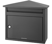 Decayeux - D560 Dark Grey Post Box