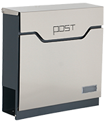 Estilo 23 - Stainless Steel Post Box