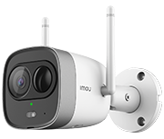 Imou Bullet Pro HD1080p Outdoor Smart Security Camera & Strobe Light