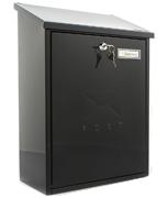Grand Black - Top Loading 21.5Ltr Medium Post Box