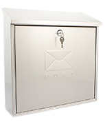 Contemporary - Stainless Steel Post Box