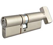 Asec Kite Elite - Euro Thumbturn Cylinder 50 - 50 (100mm Nickel Plated)