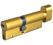 Thumbnail of CISA Astral S - Euro Thumbturn Cylinder 40 - 50 (90mm Polished Brass)