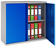 Phoenix SCL0891GBK Blue Steel Storage Cupboard