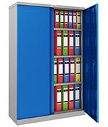 Phoenix SCL1491GBK Blue Steel Storage Cupboard