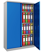 Thumbnail of Phoenix SCL1491GBK Blue Steel Storage Cupboard