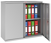 Thumbnail of Phoenix SCL0891GGE Grey Steel Storage Cupboard