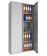 Phoenix SCL1891GGE Grey Steel Storage Cupboard