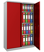 Thumbnail of Phoenix SCL1491GRE Red Steel Storage Cupboard