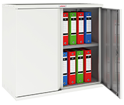 Thumbnail of Phoenix SC0891WE White Steel Storage Cupboard