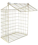 Large Letterbox Cage (Brass)