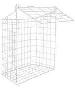 Large Letterbox Cage (White)