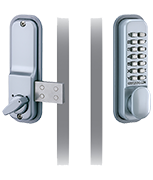 Codelocks CL100 Surface Deadbolt (Satin Chrome)