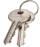 Thumbnail of Sterling 1 Star Cylinder Spare Keys (Set of 2)