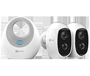 Thumbnail of EZVIZ W2D B2 Hub with C3A Camera Twin Pack